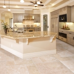 Beige Travertine Filled Honed