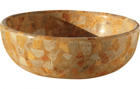 CLASSIC-NOCE-GOLD TRAVERTINE DRV-LVB-10 45X16