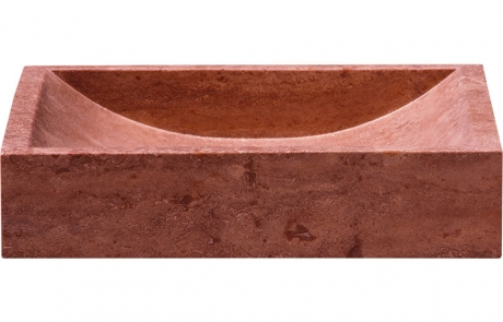 PINK TRAVERTINE DRV-LVS-10 50X40X10